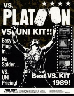 Juego online Vs. Platoon (MAME)