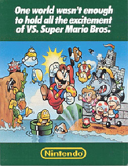Portada de la descarga de Vs Super Mario Bros