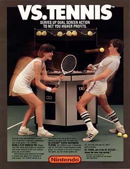 Juego online Vs. Tennis (MAME)