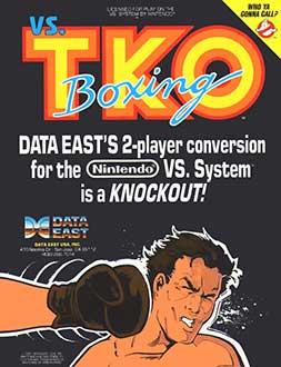 Juego online Vs. TKO Boxing (MAME)