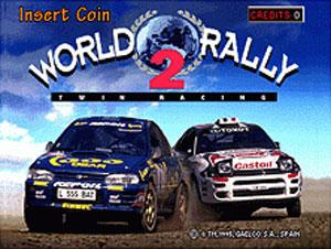 Carátula del juego World Rally (Mame)