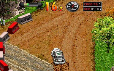 Pantallazo del juego online World Rally (Mame)