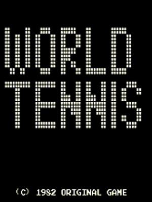 Carátula del juego World Tennis (Mame)