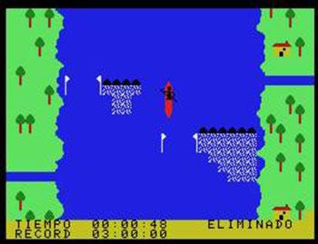 Juego online Aguas Bravas (MSX)