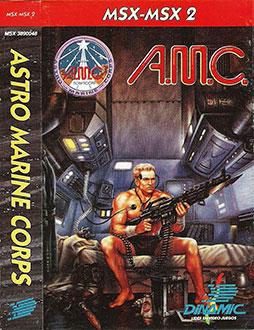 Juego online AMC: Astro Marine Corps (MSX)