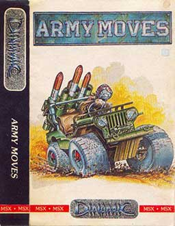 Juego online Army Moves (MSX)