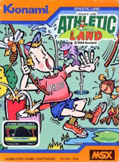 Juego online Athletic Land (MSX)