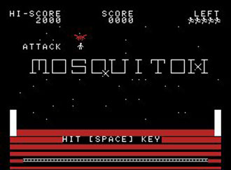 Juego online Attack Mosquiton (MSX)