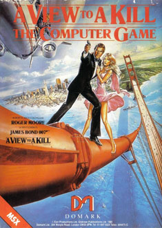 Juego online A View to a Kill: The Computer Game (MSX)