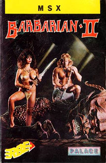 Juego online Barbarian II: The Dungeon of Drax (MSX)