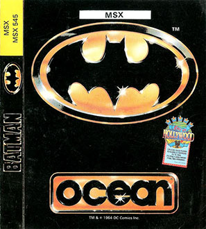 Juego online Batman The Movie (MSX)
