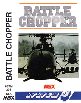 Juego online Battle Chopper (MSX)