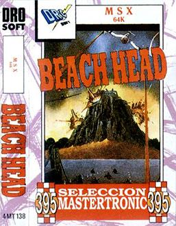 Portada de la descarga de Beach Head