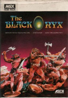 Juego online The Black Onyx (MSX)
