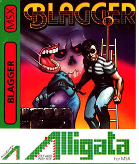 Juego online Blagger (MSX)