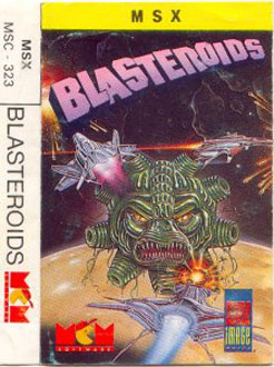 Juego online Blasteroids (MSX)
