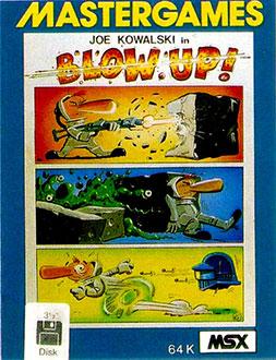 Juego online Blow Up (MSX)