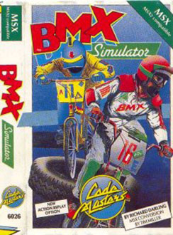 Juego online BMX Simulator (MSX)