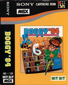 Juego online Boggy'84 (MSX)