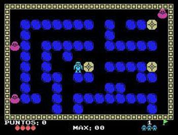 Juego online Bouncing Block (MSX)