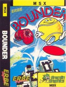 Carátula del juego Bounder (MSX)
