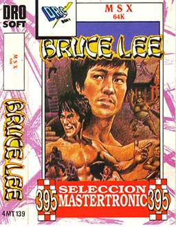 Juego online Bruce Lee (MSX)