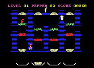 Pantallazo del juego online Burgerkill (MSX)