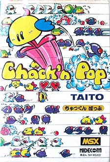 Juego online Chack'n Pop (MSX)