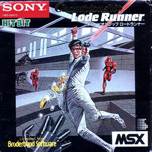 Juego online Championship Lode Runner (MSX)
