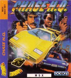 Juego online Chase HQ (MSX)