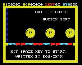 Juego online Chick Fighter (MSX)