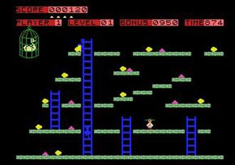 Pantallazo del juego online Chuckie Egg (MSX)
