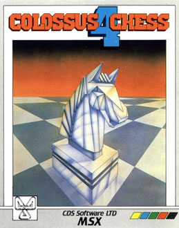 Juego online Colossus Chess 4 (MSX)
