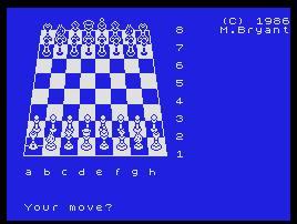 Imagen de la descarga de Colossus Chess 4