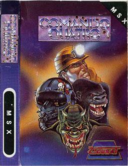 Juego online Comando Quatro (MSX)