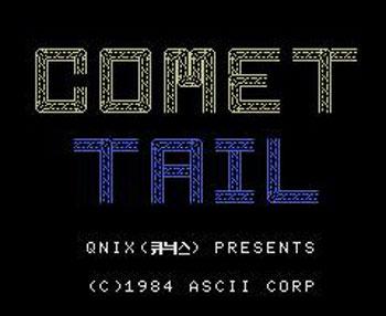 Portada de la descarga de Comet Tail