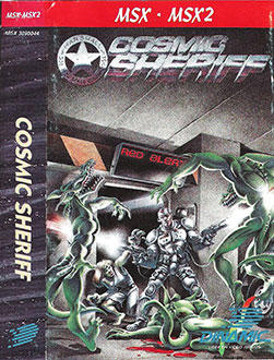 Juego online Cosmic Sheriff (MSX)