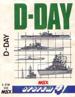 Juego online D-Day (MSX)