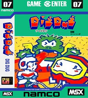 Juego online Dig Dug (MSX)