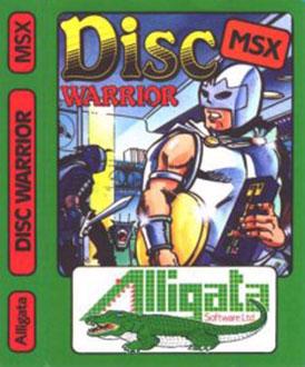 Juego online Disc Warrior (MSX)