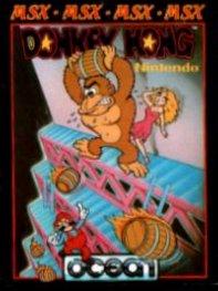 Carátula del juego Donkey Kong (MSX)