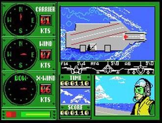 Pantallazo del juego online Eagle Control (MSX)