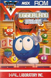 Juego online Eggerland Mystery (MSX)