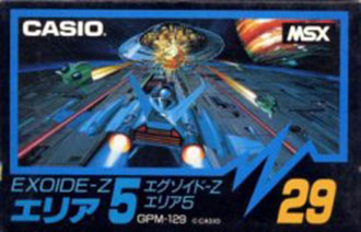 Juego online Exoide-Z (MSX)