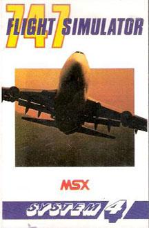 Portada de la descarga de F747 400b Flightsimulator