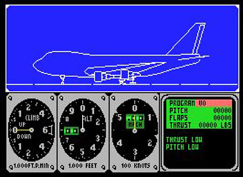 Imagen de la descarga de F747 400b Flightsimulator