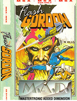 Juego online Flash Gordon (MSX)