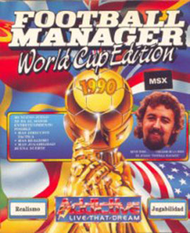 Juego online Football Manager World Cup Edition (MSX)