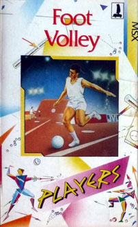 Juego online Foot Volley (MSX)