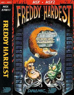 Juego online Freddy Hardest (MSX)
